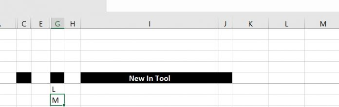 Get column name (columnname as A,B,C, etc) as input inside cell