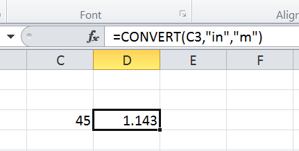 CONVERT function