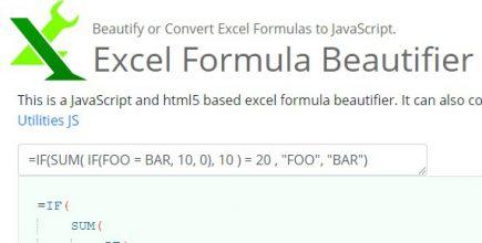 Formula Beautifier